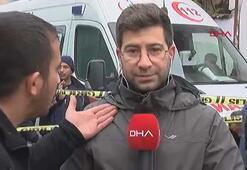 DHA muhabirine canlı yayında çirkin saldırı
