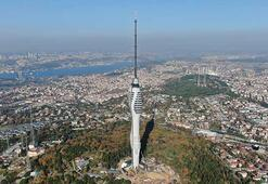 Çamlıca televizyon kulesinin kaplama işlemleri tamamlandı