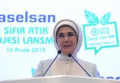Emine Erdoğan: Sıfır atık uygulamasıyla 100 bin istihdam hedefliyoruz
