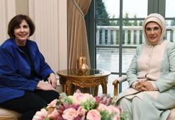 Emine Erdoğan, ABDnin Ankara Büyükelçisi Satterfieldin eşi ile bir araya geldi