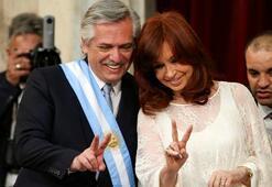 Arjantinin yeni Devlet Başkanı Fernandez yemin etti