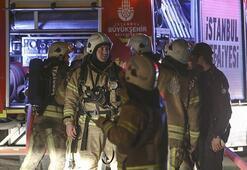 Gece yarısı korkutan yangın Alev alev yandı