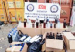 Gaziantepte sahte alkol operasyonu: 14 gözaltı