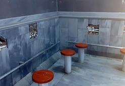 Büyükçekmecede camideki musluk hırsızı kamerada