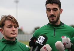 Bursasporda genç golcüler konuştu