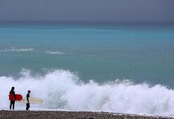 Antalyada kırmızı kodlu uyarı kaldırıldı