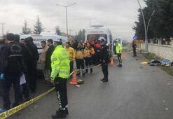 Durakta bekleyen yolculara çarptı 3 ölü
