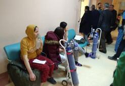 Kız öğrenci yurdunda panik Apar topar hastaneye kaldırıldı
