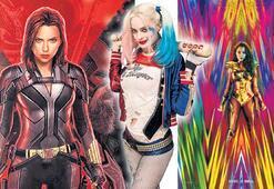 Süper kahramanlar kadınlara emanet