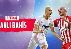 Alanyaspor – Antalyaspor maçı canlı bahis heyecanı Misli.comda