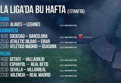 La Ligada 17. haftada 8 maç naklen D-Smartta...