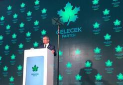 Ahmet Davutoğlu resmen açıkladı: Gelecek Partisi