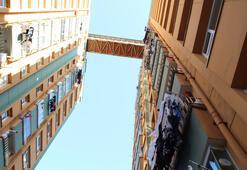 Binalar arasında komşuluk köprüsü