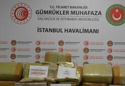 İstanbul Havalimanında 1,74 tonla rekor miktarda uyuşturucu ele geçirildi