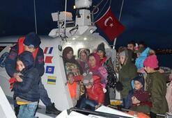 Balıkesirde 108 düzensiz göçmen yakalandı