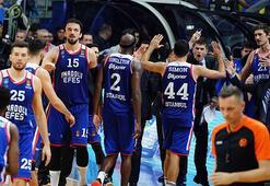 THY Euroleaguede Anadolu Efes fırtınası