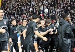 Beşiktaş Süper Ligde 7de 7 için sahada