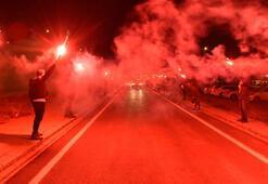 Fenerbahçeye Sivasta coşkulu karşılama