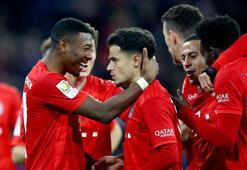 Bayern Münih, iki hafta sonra sahadan galip ayrıldı
