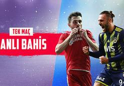 Demir Grup Sivasspor-Fenerbahçe maçı canlı bahisle Misli.comda