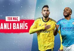 Arsenal-Manchester City maçının heyecanı Misli.comda