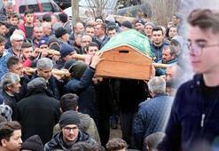 Babasının öldürdüğü Rıza, toprağa verildi