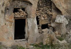 Kaya mezarlarda bulundu Türkiye için bir ilk
