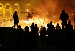Beyrutta gece çatışmaları Onlarca yaralı var