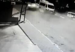 Sultanbeylide kaza anı kameraya böyle yansıdı