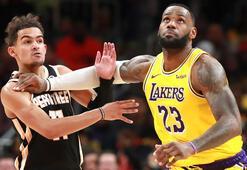NBAde Lakersın deplasman serisi sürüyor