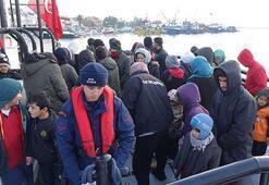 Ayvacıkta 98 kaçak göçmen yakalandı