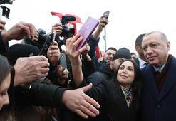Son dakika... Cumhurbaşkanı Erdoğana Cenevrede coşkulu karşılama