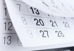 Yeni yılda, 23 Nisan, 1 Mayıs, 19 Mayıs, 15 Temmuz, 30 Ağustos, 29 Ekim hangi günler İşte 2020 Resmi tatiller