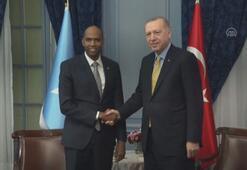 Cumhurbaşkanı Erdoğan, Somali Başbakanı Hayri'yi kabul etti