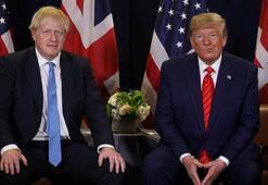 Trump ve Johnson arasında kritik görüşme