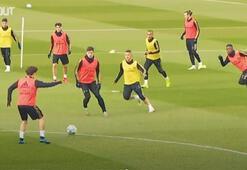Real Madrid El Clasico için tempoyu yükseltti