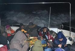 65 göçmen daha yakalandı