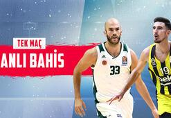 Panathinaikos – Fenerbahçe maçı canlı bahisle Misli.comda
