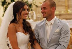 Sneijder ile Yolanthe boşanmasında sürpriz gelişme