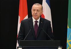 Son dakika... Cumhurbaşkanı Erdoğandan Cenevrede net mesaj: Gülücük atıyorlar
