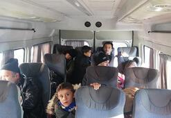 Çanakkalede 34 kaçak göçmen yakalandı