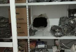 Eminönünde 55 metrelik tünel kazınca gözaltına alındı
