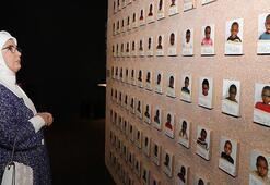 Emine Erdoğandan Cenevrede Uluslararası Kızılhaç-Kızılay Müzesini ziyaret