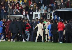 Maçın ardından büyük arbede Muslera ve Gökhan Çıra konuştu...