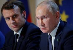 Putin ve Macron Libya krizini görüştü
