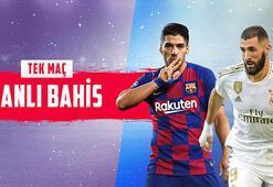 Barcelona – Real Madrid maçı canlı bahis heyecanı Misli.comda