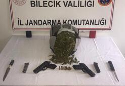 Bilecik'te uyuşturucu operasyonuna 3 tutuklama