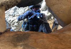 Kıran-8 operasyonunda PKKnın sığınak ve barınakları imha ediliyor