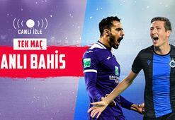 Anderlecht – Brugge maçı canlı bahis heyecanı Misli.comda