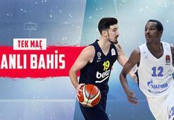 Fenerbahçe Beko - Zenit maçı canlı bahis heyecanı Misli.comda
